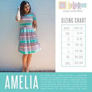 LuLaRoe Dresses - Xl Lularoe Amelia
